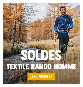 C'est les soldes ! Profitez de promotions jusqu'à -50% sur le rayon Textile de randonnée Homme