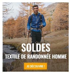 C'est les soldes d'hiver ! Profitez de promotions jusqu'à -70% sur le textile de randonnée homme