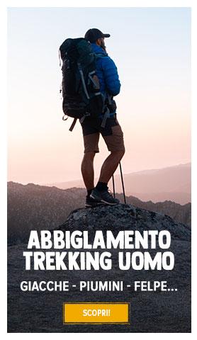 Abbigliamento da trekking Uomo : Giacche, Piumini, Felpe...