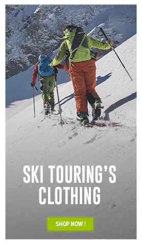 Come discover our alpine touring's clothing assortment !
