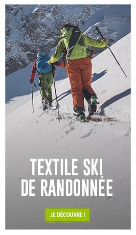 Découvrez notre collection textile ski de randonnée !