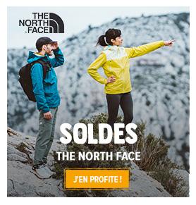 C'est les soldes chez The North Face ! Profitez de promotions jusqu'à -50% sur les produits de la marque !