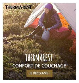 Thermarest : confort de couchage !