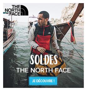 Découvrez tous les soldes de la marque The North Face !