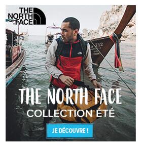 Découvrez toute la collection été de la marque The North Face !
