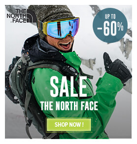 It's the Sale ! Come discover all the products on sale on The North Face