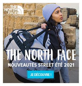 Découvrez les nouveautés Street 2021 The North Face : Sacs de voyage - T-shirts - Sweats...