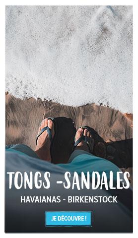 Profitez de notre rayon Tongs et Sandales Homme : Havaiana, Birkenstock...