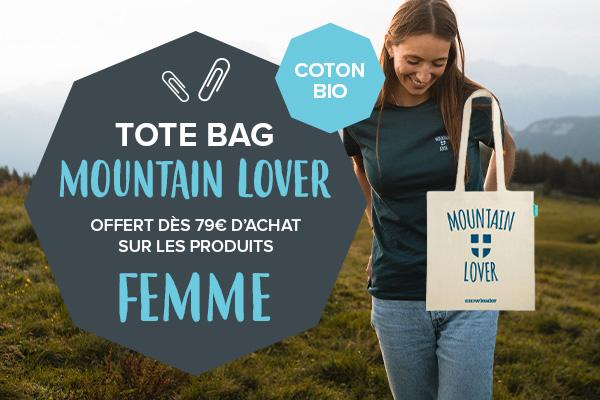 Tote bag offert dès 79€ d'achat de produits femme !