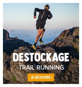 Trail running destockage d'été !