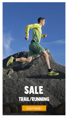 It's Summer sale! Come discover our Trail/Running's assortment on sale