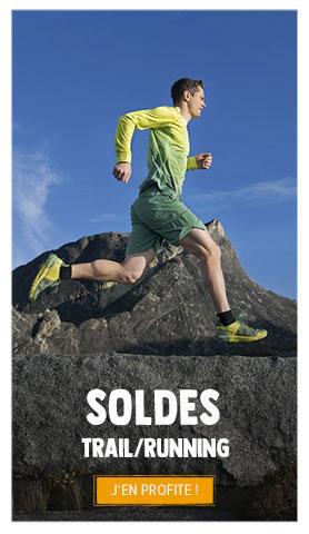 C'est les soldes ! Profitez de promotions jusqu'à -70% sur le rayon Trail/Running