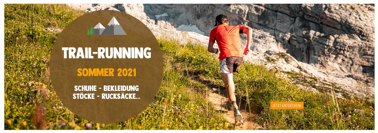 Entdecken Trail Running : Schuhe - Bekleidung - Stöcke...