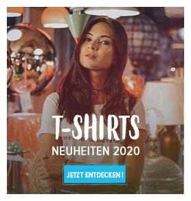 Entdecken Sie die Damen T-shirts Neue Kollektion !