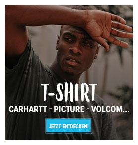 Entdecken Herren T-shirt : Carhartt, Vans, Adidas…