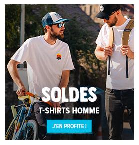 C'est les soldes d'été ! Profitez de promotions jusqu'à -70% sur le rayon T-shirts Homme