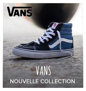 Nouvelle collection Vans