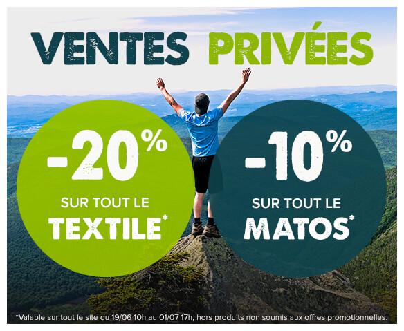 Ventes privées Snowleader, -20% sur tout le textile et -10% sur tout le matos