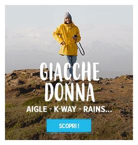 Giacche donna : Aigle - K-Way - Rains…