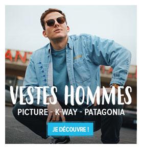 Profitez de notre rayon Veste Homme : Picture, K-way, Patagonia…