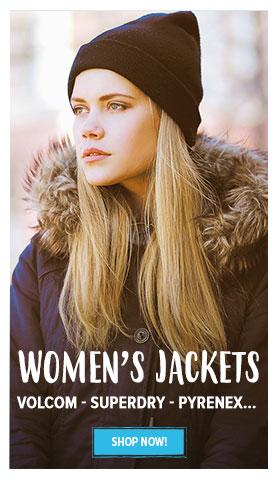 Women's Jackets : Superdry, Volcom, Pyrenex...
