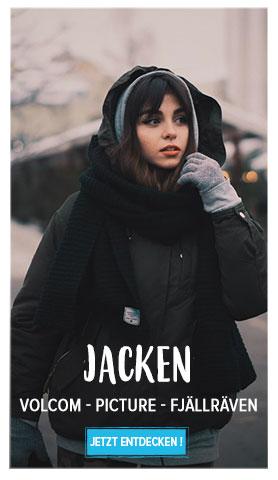 Jetzt entdecken Damen Jacken : Volcom, Picture, Fjällräven…