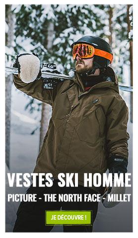 Soyez au chaud lors de vos sorties ski : Découvrez toute notre collection Vestes de ski