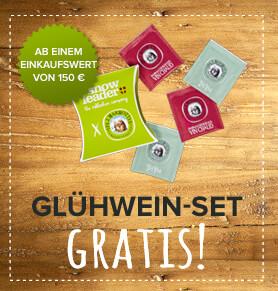 Glühwein set gratis !