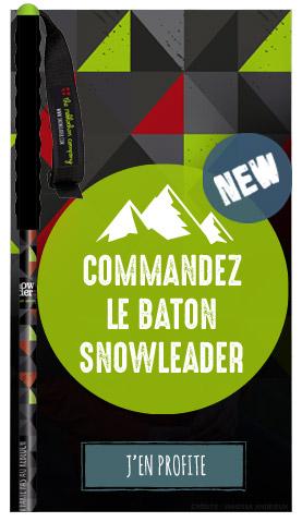 Nouveau bâton Snowleader !