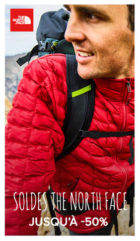 Collection The North Face en soldes