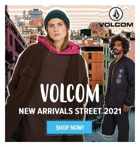 Volcom : new arrivals street 2021
