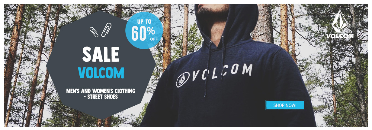 Sale Volcom - Up to 60% off -  Come discover our assortment!