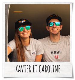 Xavier et Caroline - Snowleader
