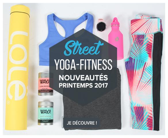 Découvrez notre sélection Yoga/fitness !